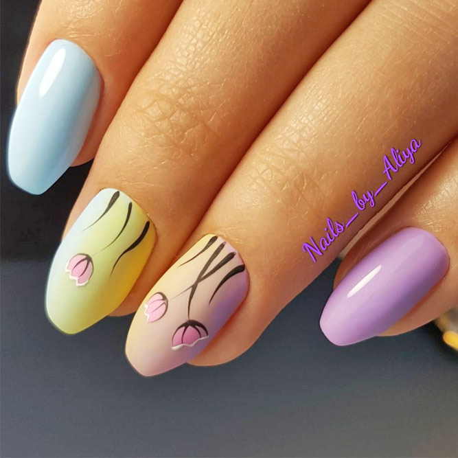 Bright Spring Nail Art Ideas to Refresh Your Mani picture 3