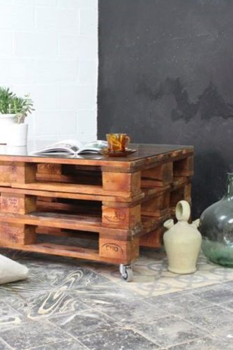 Furniture Made of Crates for Living Room picture 1