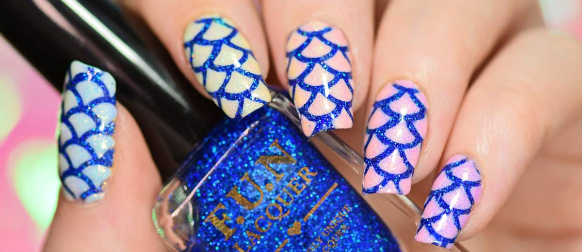 16 stunning and simple nail designs you can duplicate at home - Easy nail designs you can do at home ...