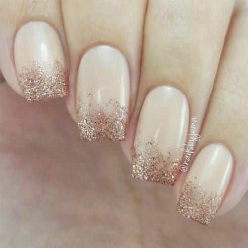 Glittery Tips