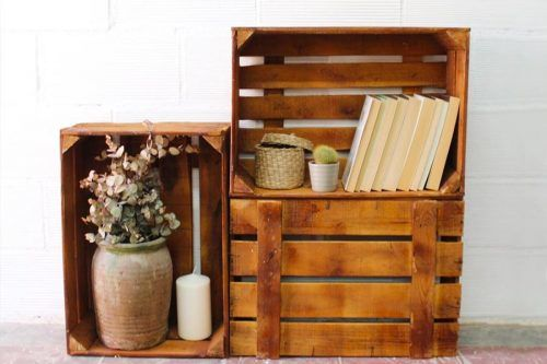 Creative Ideas with Storage Crates for Your Home