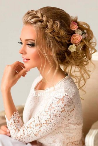 Charming Braided Bridal Updos picture 2