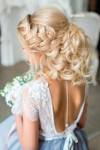 Charming Braided Bridal Updos picture 3