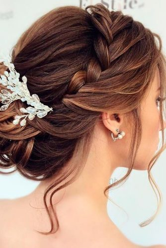 Charming Braided Bridal Updos picture 4