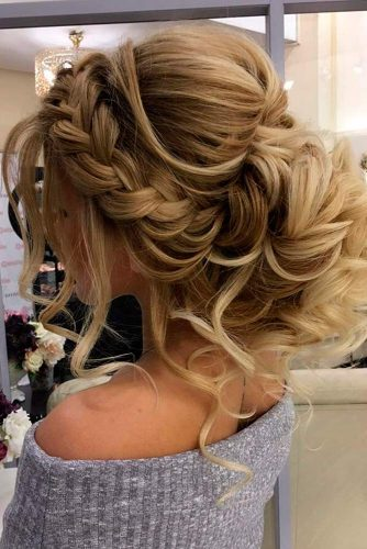 Charming Braided Bridal Updos picture 5