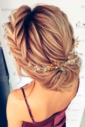 Charming Braided Bridal Updos picture 6