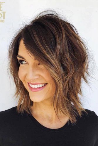 Face Framing Layered Bob #layeredbob