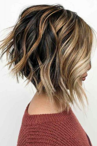 Inverted Bob Haircut #invertedbob #layeredbob