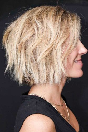 Layered Stacked Bob #layeredbob