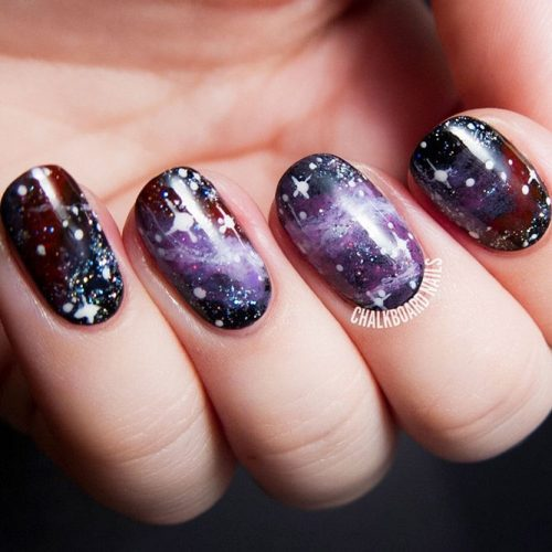 Milky Way Nails