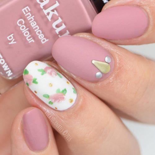Florals Nail Design