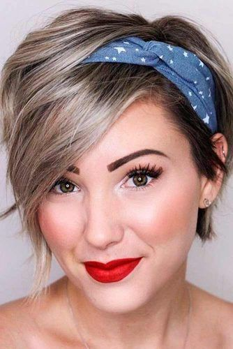 Easy Hairstyle With Hairband #hairband #shorthair