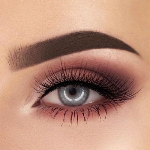 Matte Soft Smokey Eyes Idea #smokey
