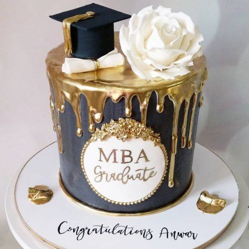 Graduation Cake Idea #graduationcake