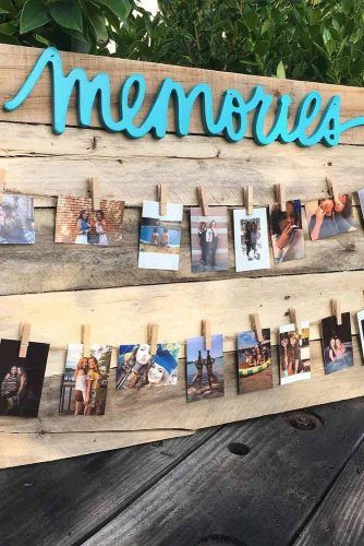 Photo Board Decoration Idea #memoriesboard