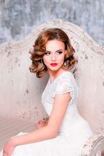 Romantic Wedding Hairstyle for Perfect Look picture 1