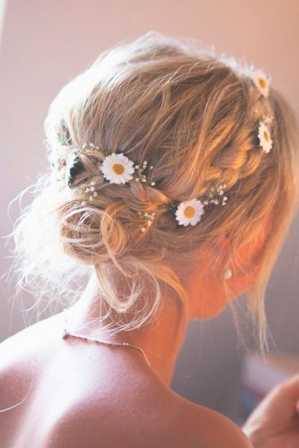 Amazing Hairstyle with flowers picture 6