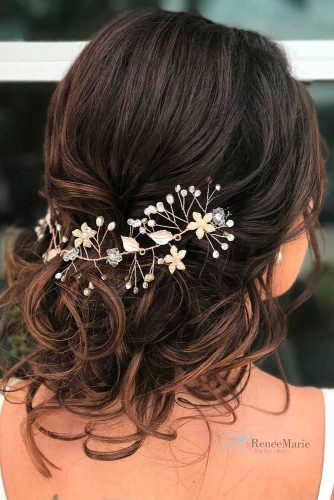 Gorgeous wedding hairstyles for shoulder length hair picture 2