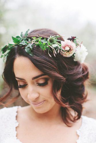 Gorgeous wedding hairstyles for shoulder length hair picture 3