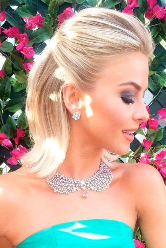 Gorgeous wedding hairstyles for shoulder length hair picture 4