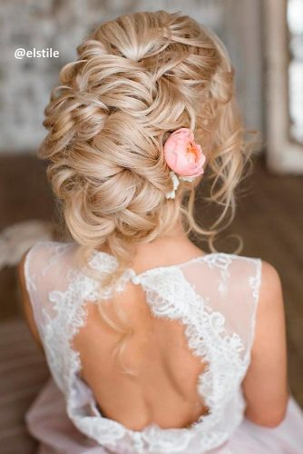 Amazing Hairstyle With Flowers picture 2