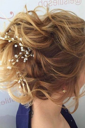 Romantic Wedding Hairstyle for Perfect Look picture 6