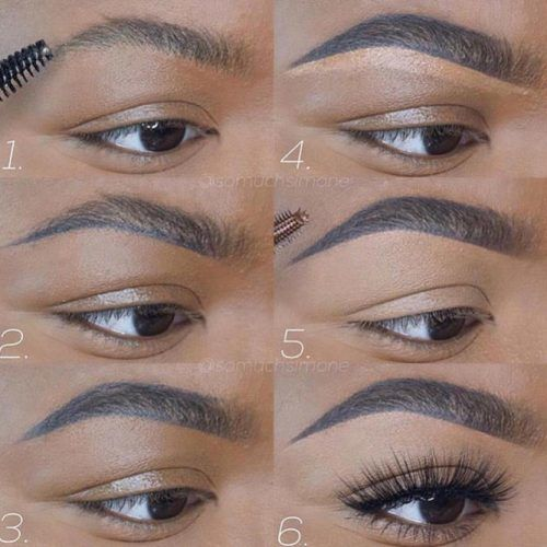 Eyebrows Tutorial For Dark Skin Tone #darkskintone