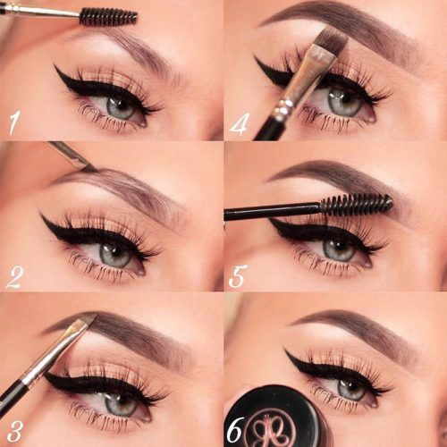 Eyebrows Makeup Step By Step #eyebrows