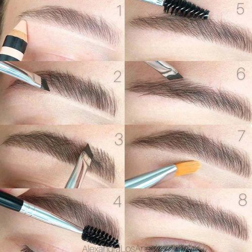 Step By Step Brows Tutorial #browsmakeup