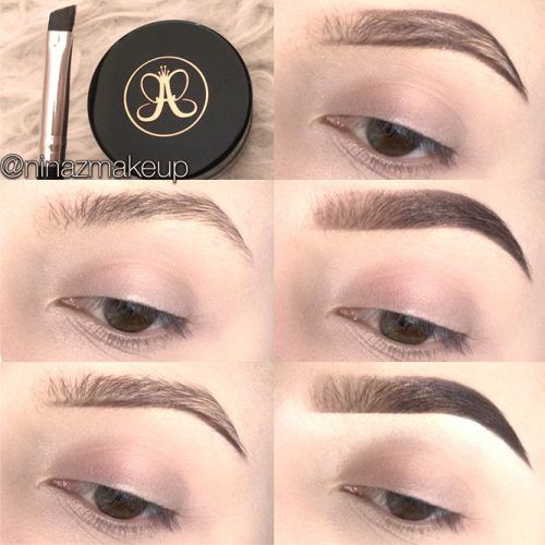 How To Fill Eyebrows Tutorial #stepbystep