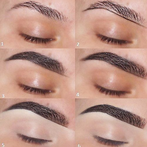 Easy Eyebrows Tutorial #stepbystep