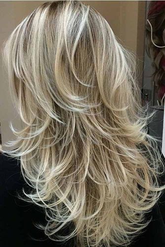 Chic Long Layered Haircuts for Blonde picture 2