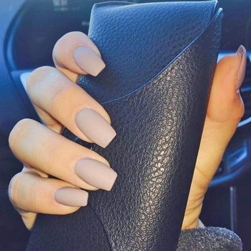 Simple Nude Nail Ideas picture 5