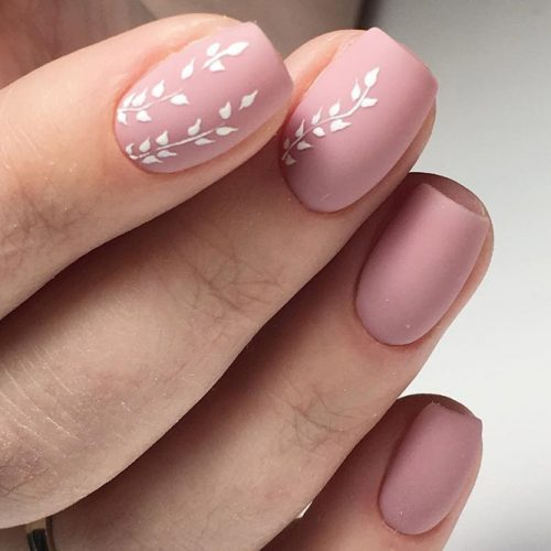Patterned Nude Nail Designs picture 5