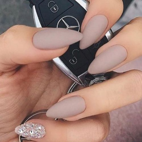Pretty Nude Nail Designs picture 1
