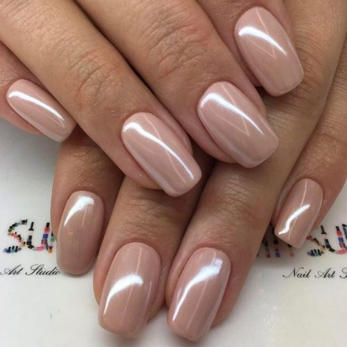 Pretty Nude Nail Designs picture 3