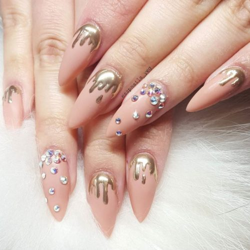 Pretty Nude Nail Designs picture 5