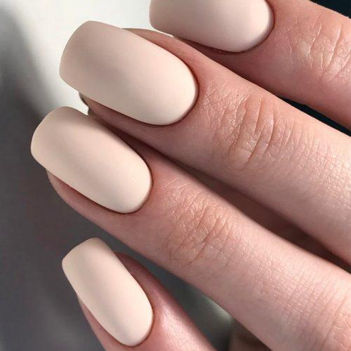 Matte Nude Nail Designs picture 6