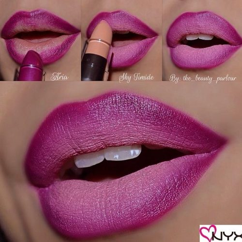 Ombre Lips Makeup Step by Step picture 2