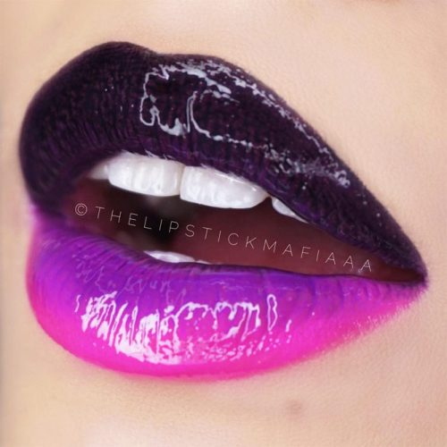Beautiful Ombre Lips Ideas picture 3