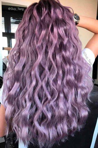 Subtle Purple Ombre