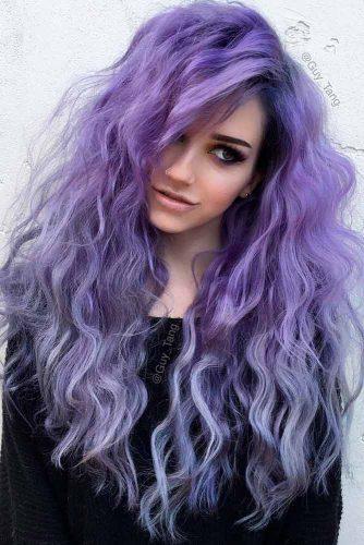 Reverse Purple Ombre