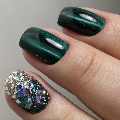 Dark Green Diva