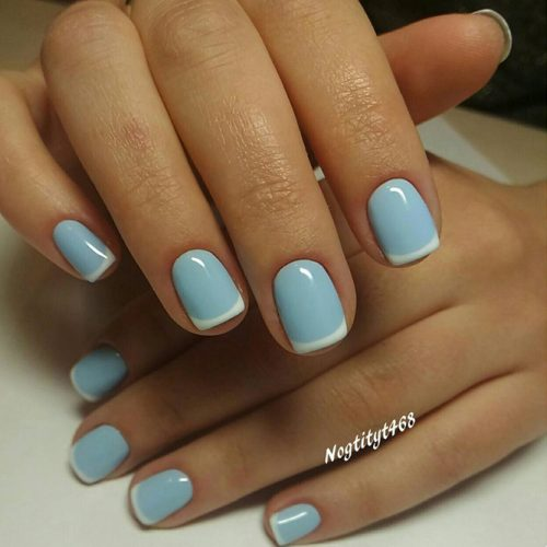 Fancy French Mani