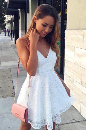 White and Black Graduation Dress Designs picture 1