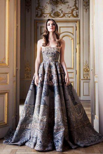 Long Off-Shoulder Prom Dress
