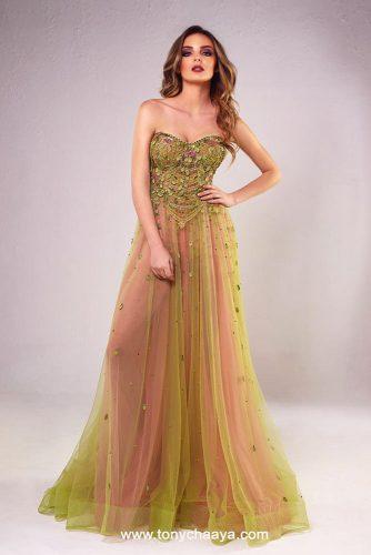 Long Off-Shoulder Prom Dress Option