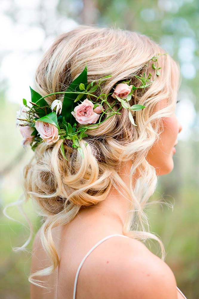 Embellished with Flowers Hairstyles picture 1