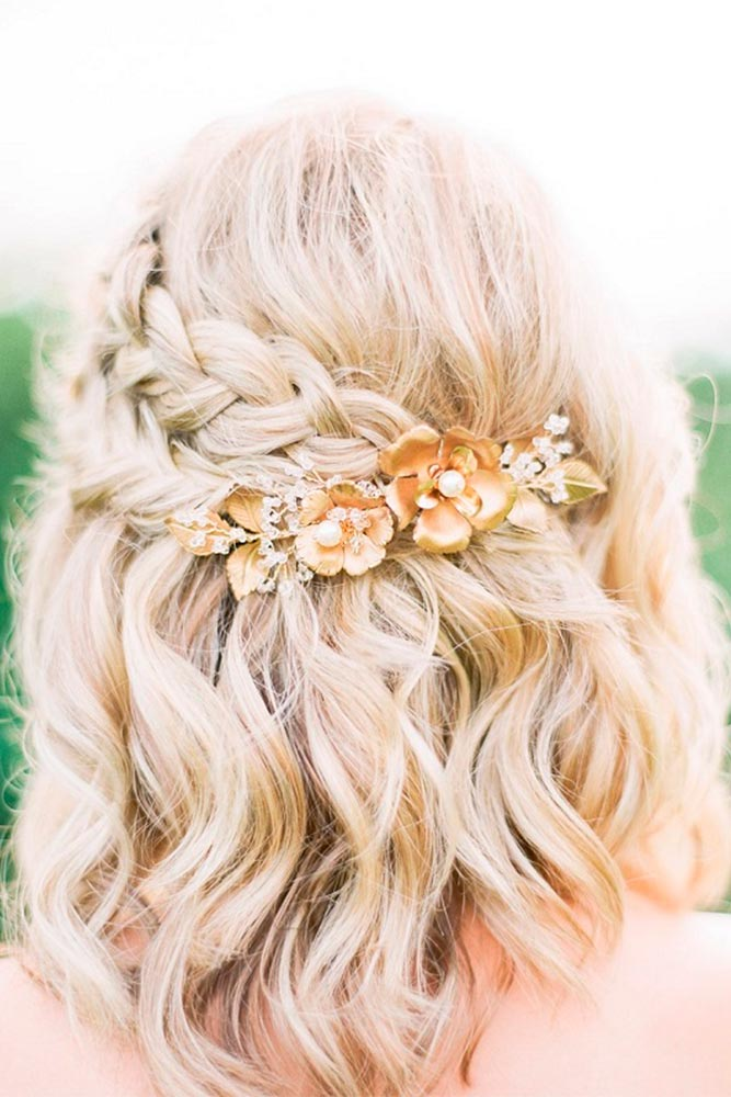 Embellished with Flowers Hairstyles picture 3