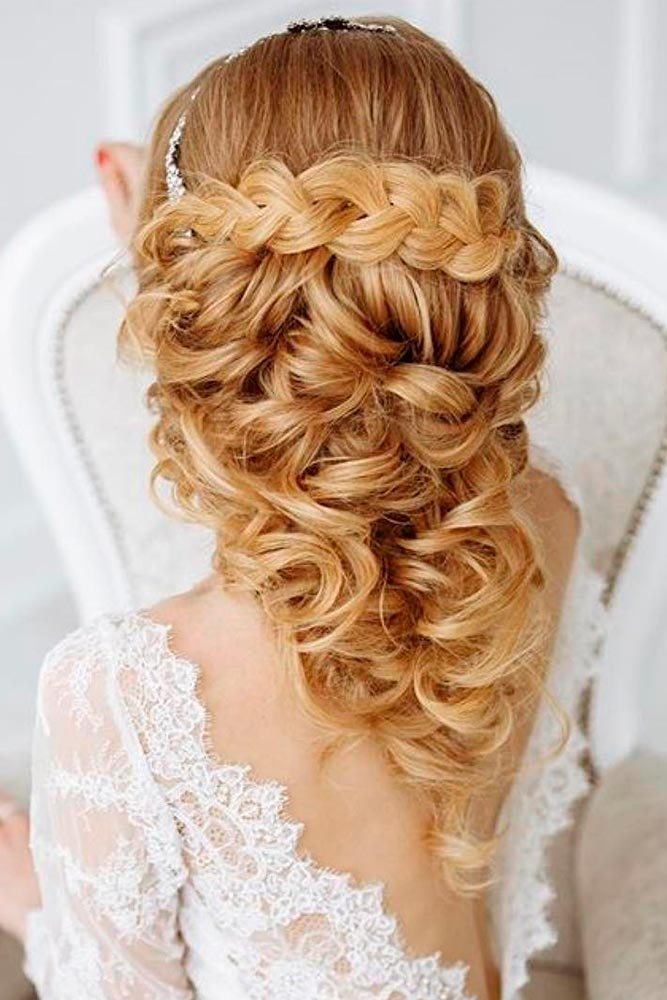 Luxury Wedding Hairstyle for Long Hair picture 5